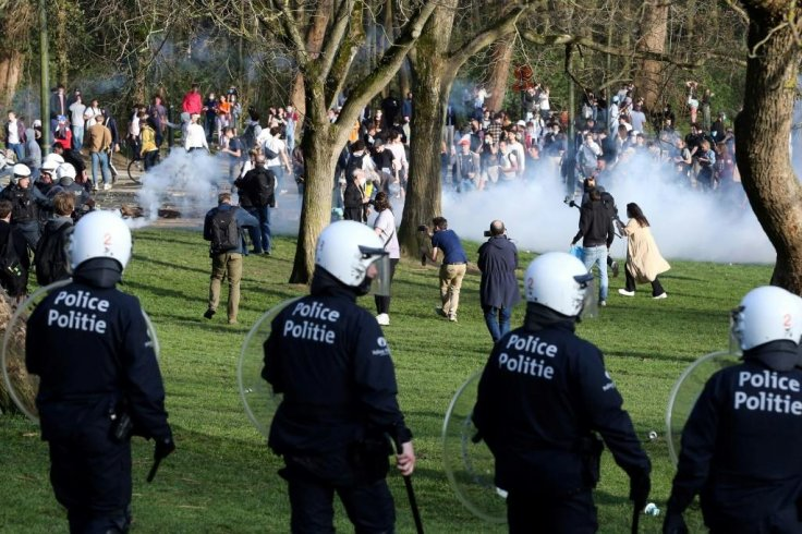 Brussels riot