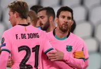 Messi and de Jong
