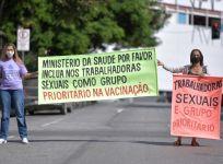 Sex workers on strike in Brazil