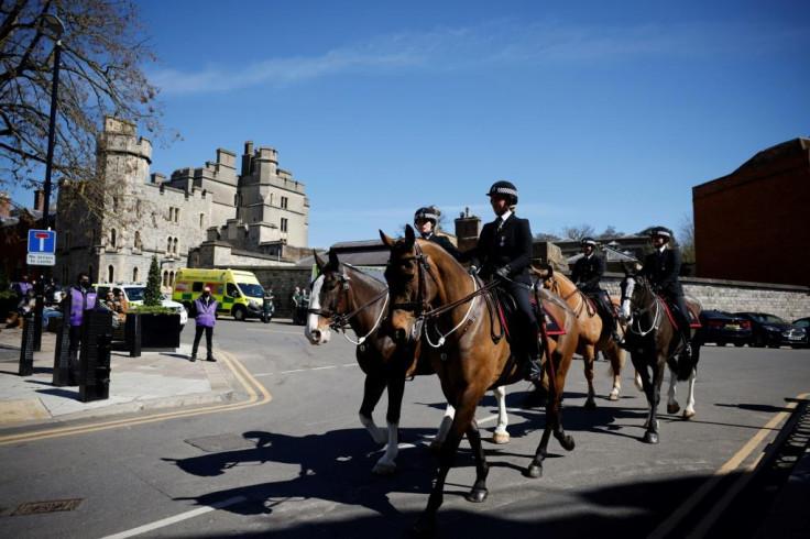 Police Officers at Windsor
