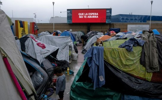 US-Mexico migrant shelter