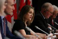 Canada Finance Minister Chrystia Freeland
