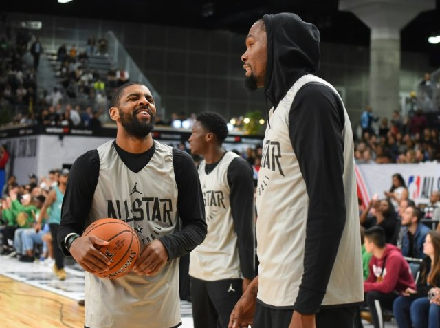 NBA: Kyrie Irving, Kevin Durant and James Harden labelled 'bailers' for joining Brooklyn Nets