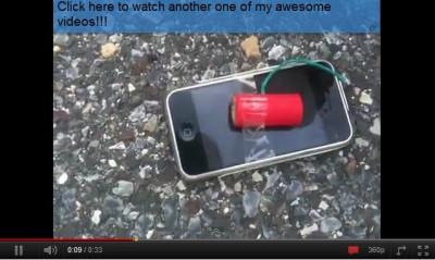 4. Cello tape explosive devises to it