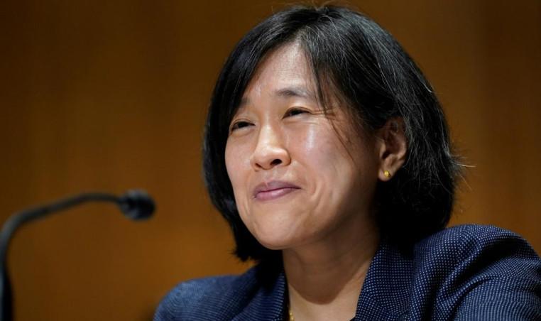 Top US trade negotiator Katherine Tai