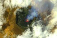 DR Congo volcano