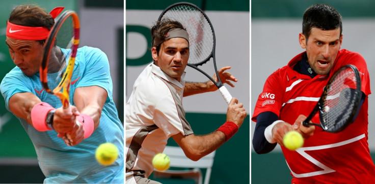 Rafael Nadal and Novak Djokovic.