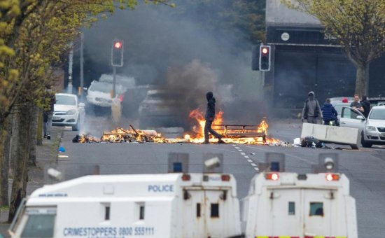 Northern Ireland violence