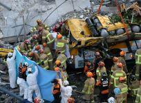 South Korean building collapse