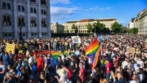 Hungary LGBT rally