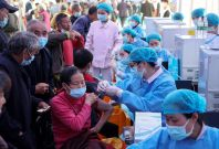 Covid vaccination in China