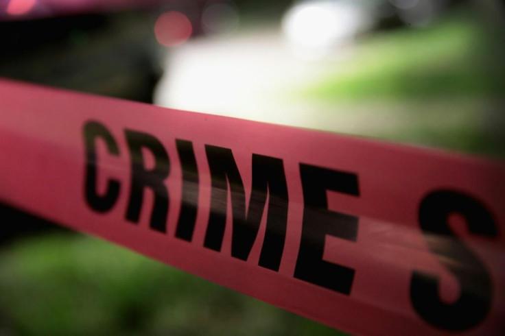 Crime scene police line.