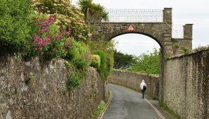 Cliff Road in Salcombe, Devon