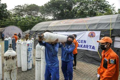 Indonesia oxygen crisis