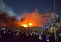 Iraq hospital fire