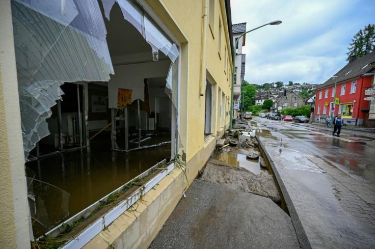European hurricane damage
