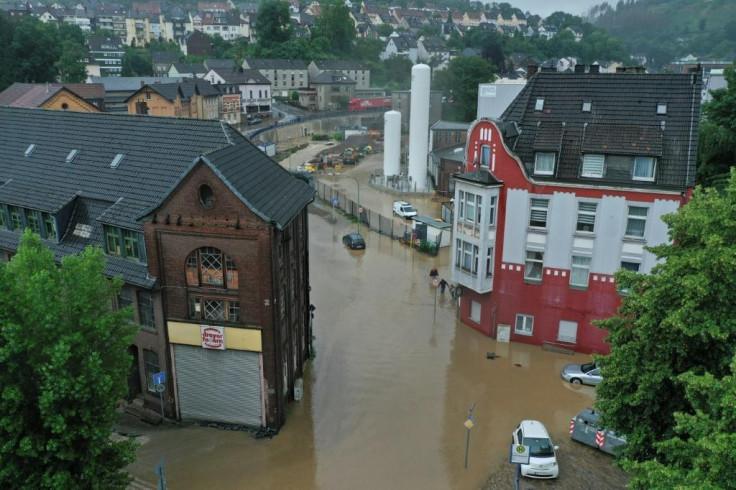 Hagen floods Germany