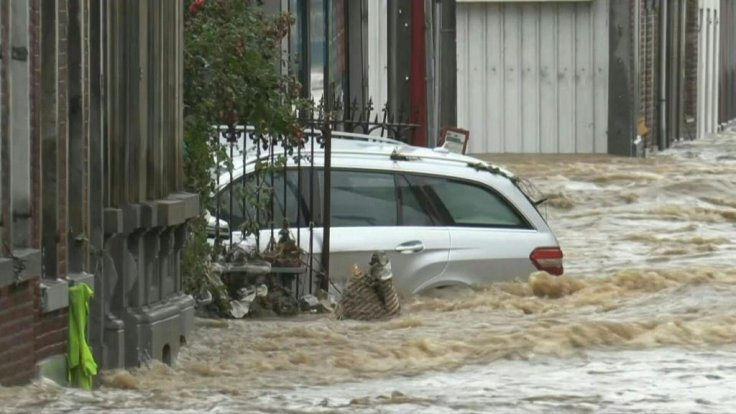 Floods in Belgium