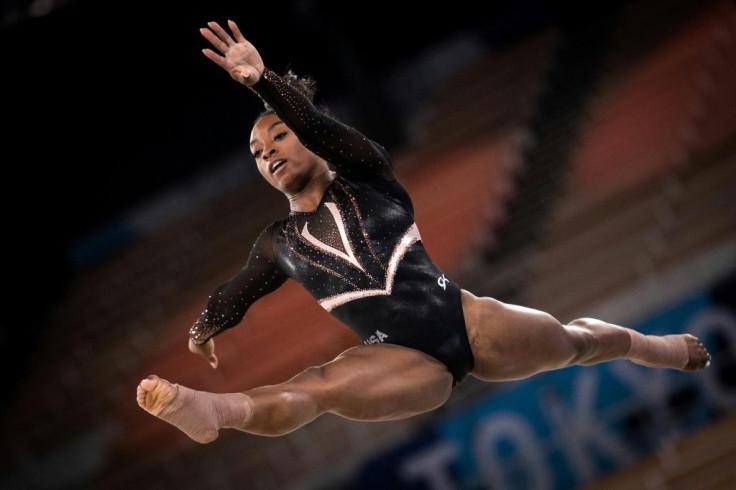 The power of Olympic gymnastics champion Simon Byles