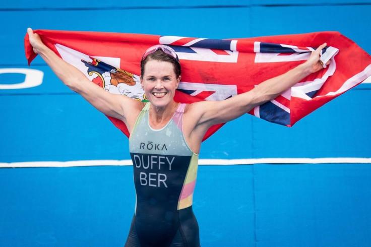 Bermuda's Flora Duffy celebrates gold