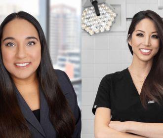 Dr. Catherine Chang and Ana Skoumal