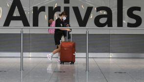 UK-France arrivals