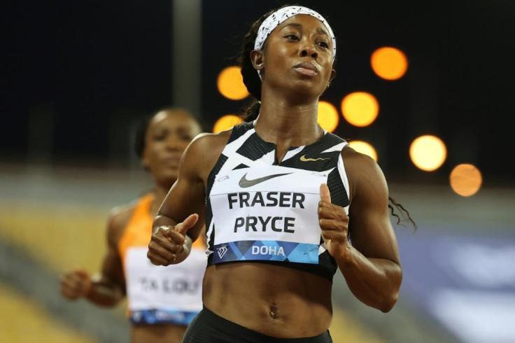 Shelley Ann Fraser Pace of Jamaica