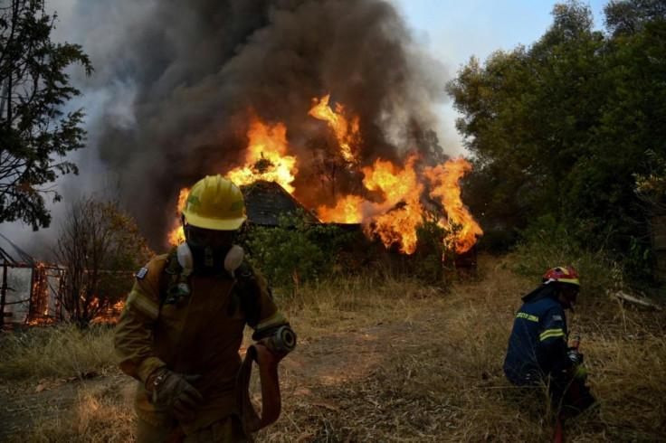 Turkey forest fire