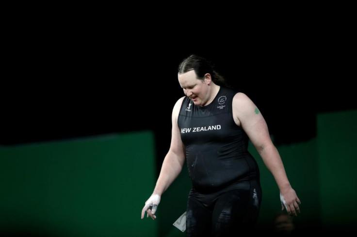 Laurel Hubbard of New Zealand.