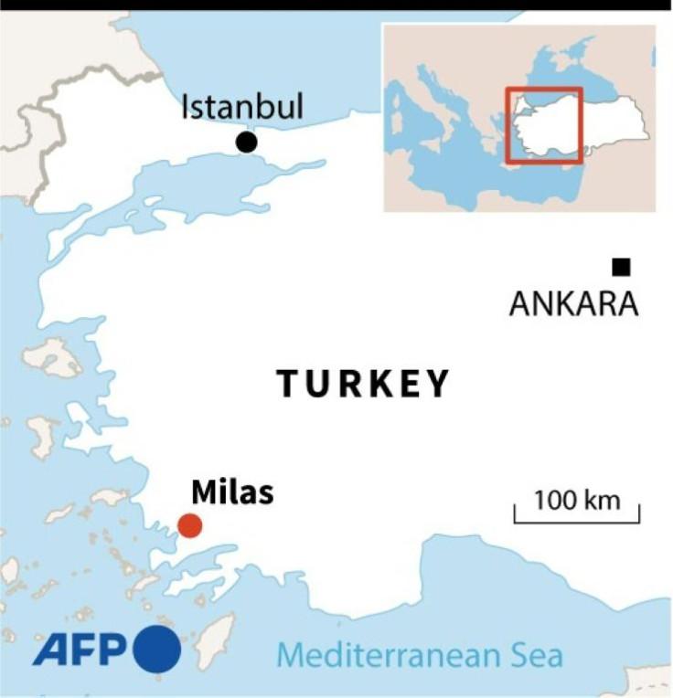 Turkish forest fires.