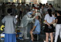 China mass testing
