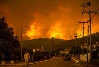 Evia Wildfire