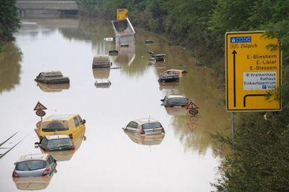 Climate change floods