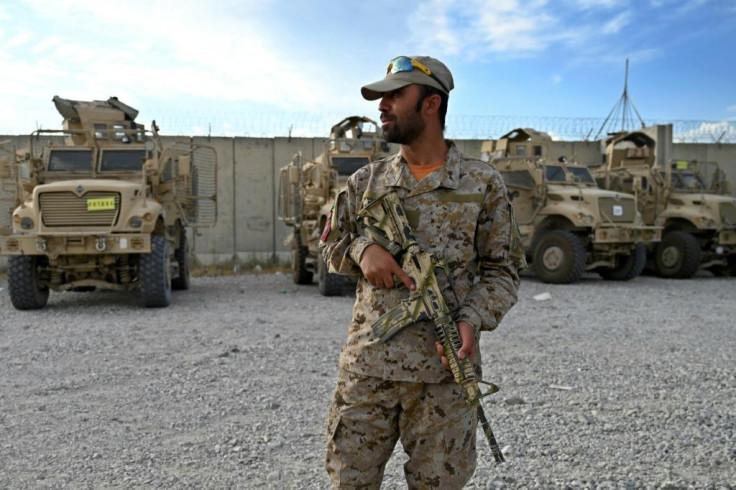 Afghan police officer