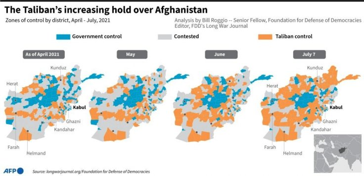 Taliban attack on Afghanistan