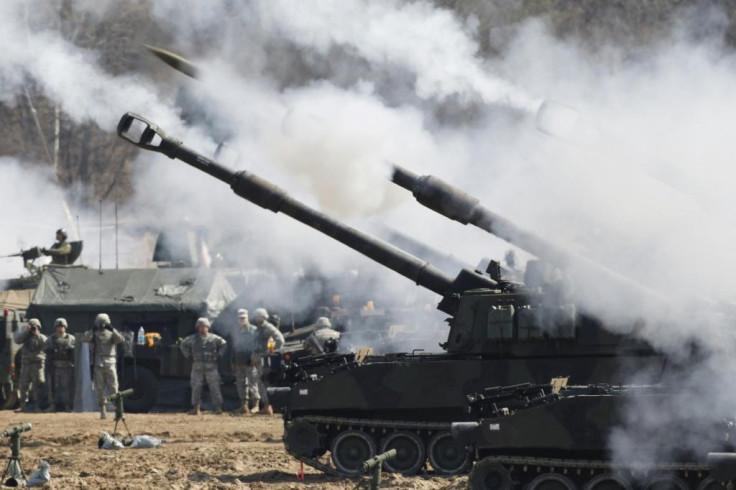 US and Korean military exercises