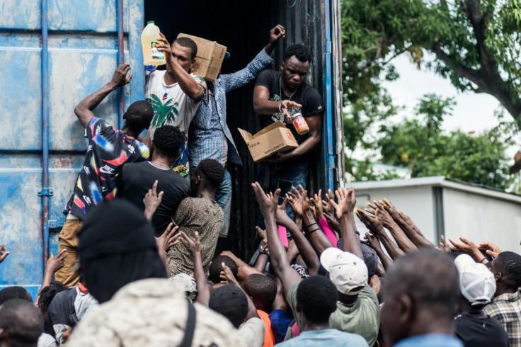 Haiti relief operations