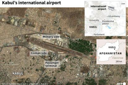 Kabul international airport