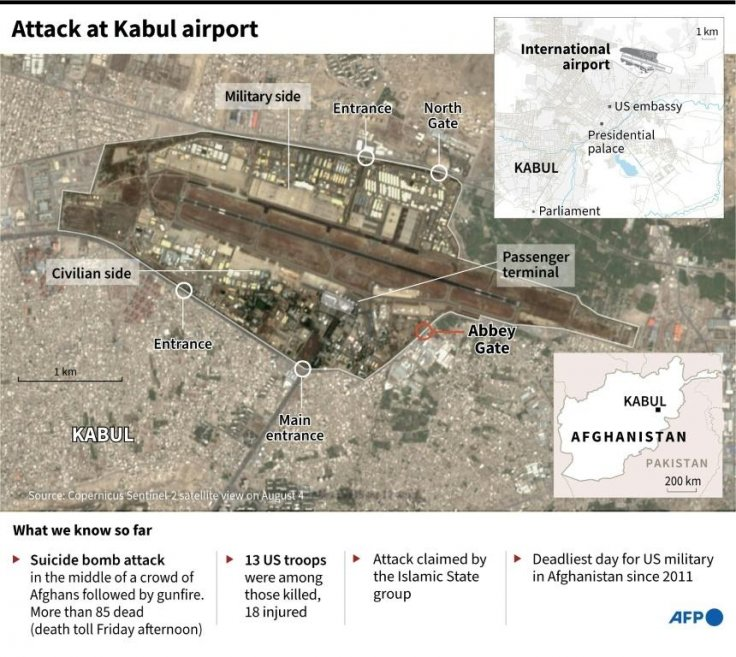 Attack on Kabul Airport
