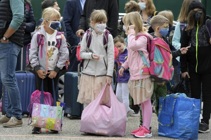 European schools are reopening.