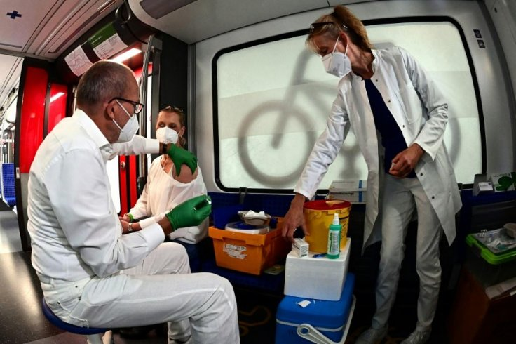 Germany Vaccination Train