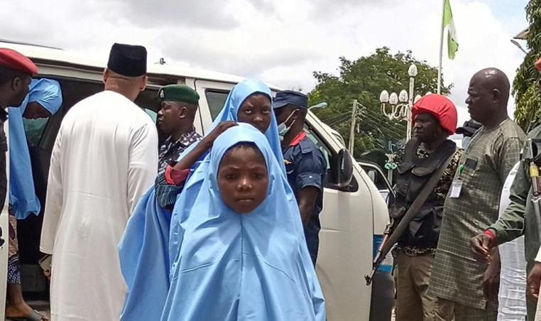 Kidnapped schoolchildren in Nigeria