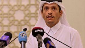 Qatar's Foreign Minister Sheikh Mohammed bin Abdulrahman