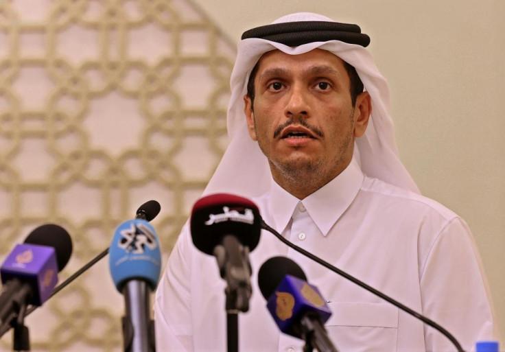 Qatar's Foreign Minister Sheikh Mohammed bin Abdul Rahman