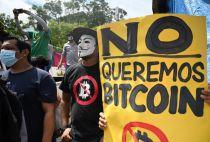 Bitcoin protest