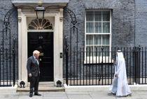 Crown Prince of Abu Dhabi, Boris Johnson