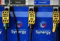 UK petrol shortage