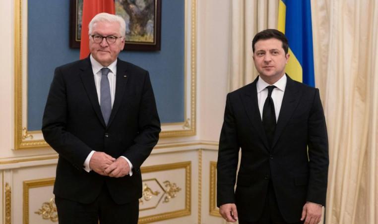 Ukrainian and German presidents