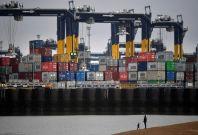 UK shipping port