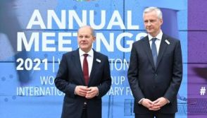 Olaf Scholz and Bruno Le Maire